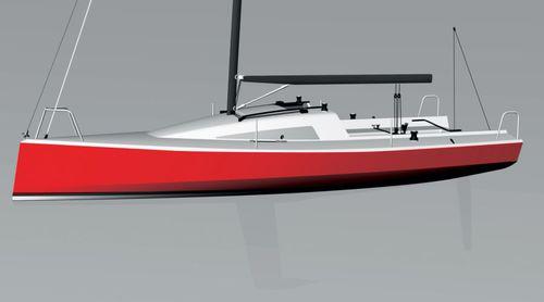 monohull / coastal cruising / daysailer / open transom