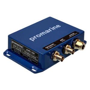 VHF antenna splitter / FM / for boats