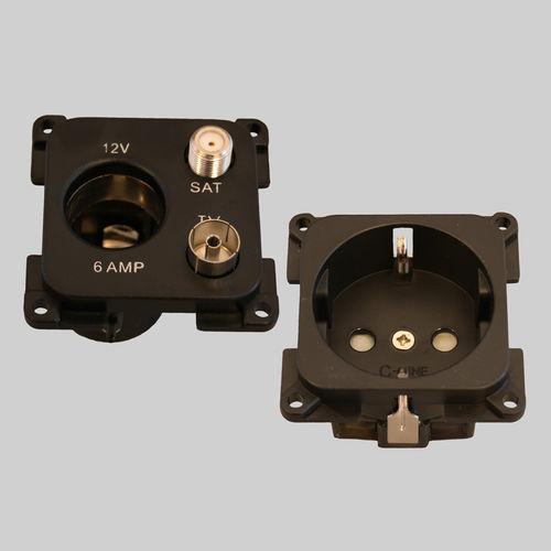 boat electrical plug / female