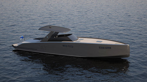 inboard express cruiser / open / sport / with cabin