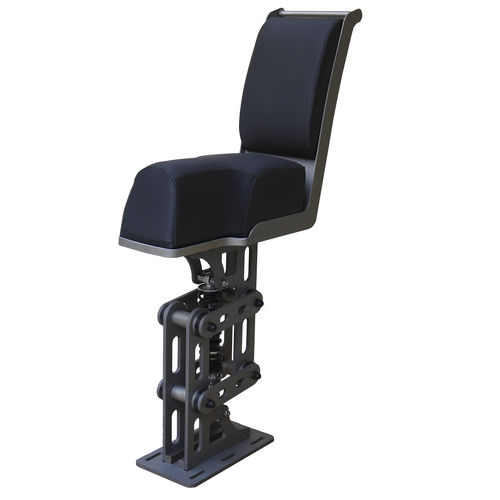 jockey seat / for boats / high-back / with suspension