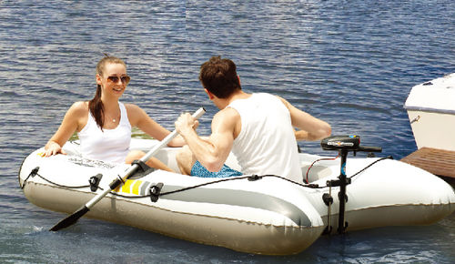 outboard inflatable boat / electric / sport