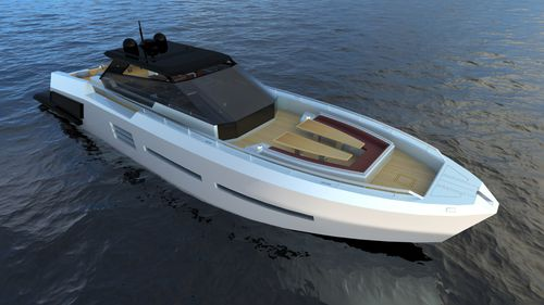 cruising motor yacht / hard-top / open / IPS