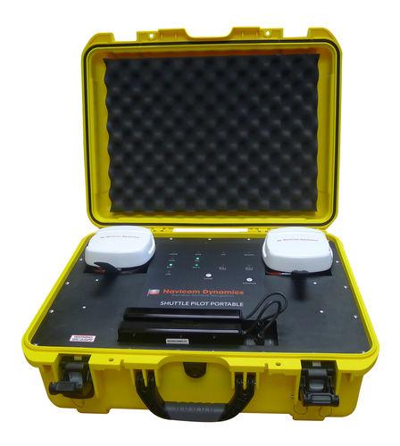 Mooring portable pilot unit / positioning / monitoring ShuttlePilot Portable Navicom Dynamics