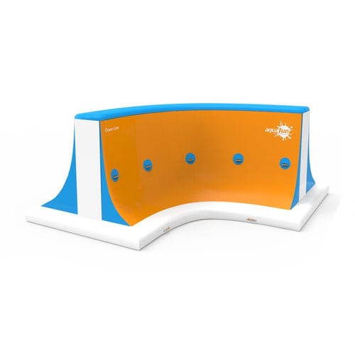climbing-wall water toy / inflatable / floating