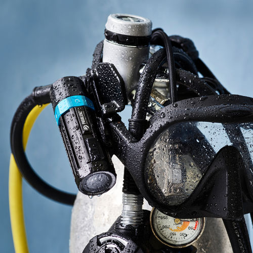 underwater video camera / color / portable / waterproof
