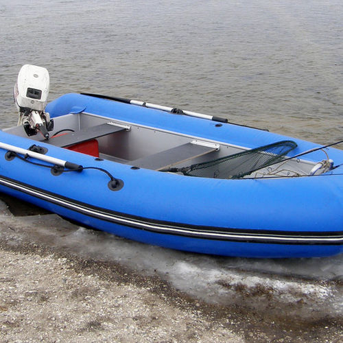 outboard inflatable boat / RIB / hunting / for fishing