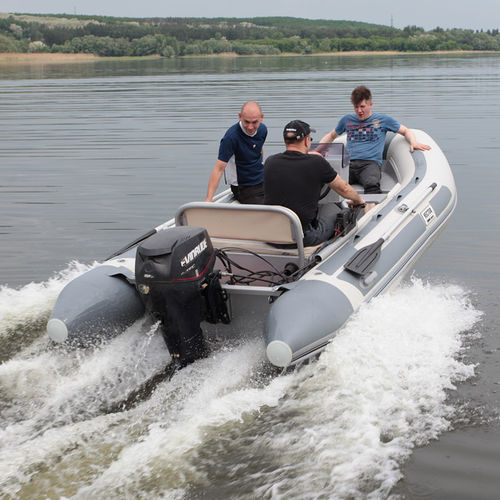outboard inflatable boat / RIB / sport / dive