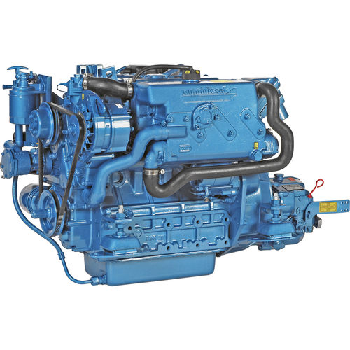 boat engine : in-board diesel engine 30 - 40 hp (saildrive, indirect injection, natural aspiration) N4.40 (40 HP @ 2800 RPM) Nanni Industries