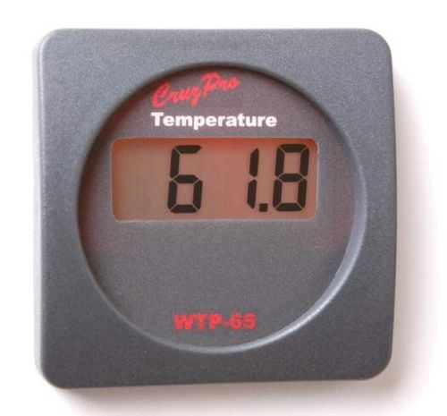 boat water temperature indicator WTP65 Cruzpro