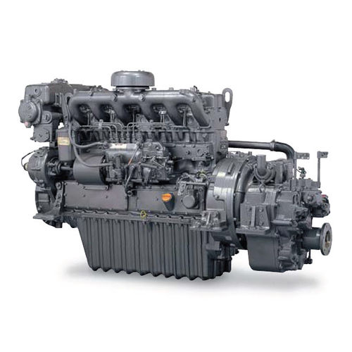 Commercial marine engine : in-board diesel engine 100 - 300 hp (direct