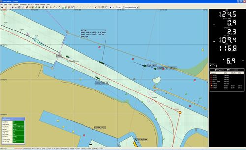 computerized navigation system for ships (ECDIS compliant) PPU  AD Navigation 