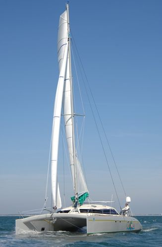 cruising catamaran (sailboat, custom-made) FREYDIS 49 Lerouge yachts