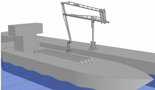 emergency release system for marine loading arm ERC Kanon