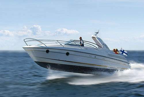 motor-boat : in-board cabin-cruiser (sport, 6 berth) 31 DC Grandezza