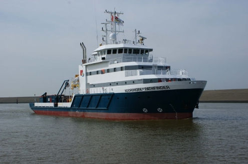 offshore support vessel : diving support vessel (shipyard) NB438 - 1.490 DWT Shipyard DeHoop