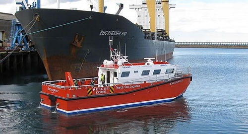 offshore windfarm service boat : crew and logistics transport boat ALN 100 - WAVE COMMANDER Alnmaritec