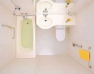 prefabricated bathroom for ships BATH TYPE WARTSILA Accommodation Systems Korea