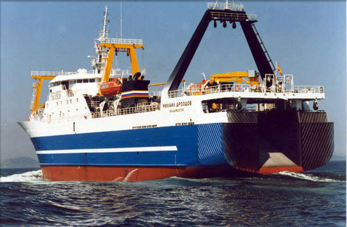 professional fishing-vessel : fishing-trawler (shipyard) 5446 DWT / VIGO Factorias Juliana, S.A.U.