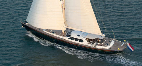 sailboat : cruiser sailing-yacht (aluminium, custom-made) 100' TRADITIONAL Van Dam Nordia