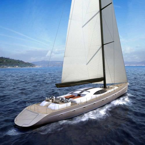 sailboat : cruising sailing-yacht (aluminium) 120' PERFORMANCE CRUISER Van Dam Nordia