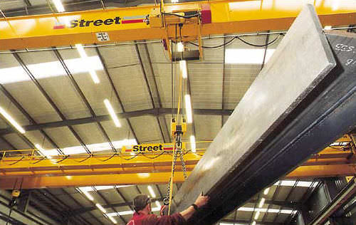 shipyard crane : overhead traveling crane SINGLE GIRDER Street Crane