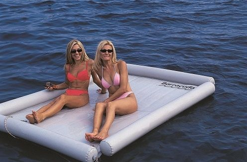 water toy : inflatable mattress PLATFORM Barracuda