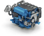 pleasure boat engine : in-board diesel engine 200 - 300 hp (common-rail, turbocharged) T4 Evo2 (200/230/270 HP @ 3600 RPM) Nanni Industries