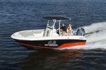 outboard center console boat / center console / 8-person max. / T-Top