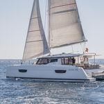sailing catamaran / cruising / classic / open transom