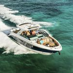 outboard express cruiser / triple-engine / open / bowrider