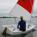 Single-handed sailing dinghy / recreational EUROPTI Topper