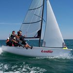 double-handed sailing dinghy / recreational / asymmetric spinnaker