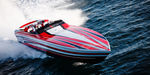 inboard runabout / dual-console / offshore / with cabin