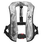 inflatable life jacket / commercial / fire-retardant