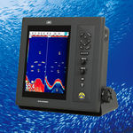 boat echo sounder / dual-frequency / digital