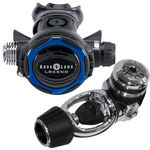 First and second stage scuba regulator 70th Anniversary Legend Aqua Lung