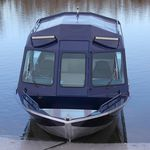 hydro-jet runabout / electric / stepped hull / dual-console