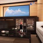 yacht wine storage / custom / for ships