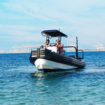 outboard work boat / inflatable boat