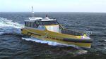 aluminum offshore service boat