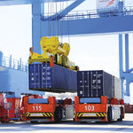 AGV automatic guided vehicle / for containers