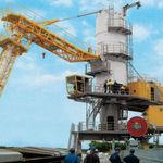 pneumatic ship unloader / mobile