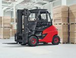 Terminal forklift / Ro-Ro / electric E 60-80/900 LINDE Heavy Truck Division
