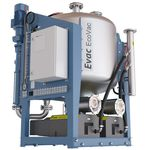 wastewater tank / vacuum / for ships / self-supporting