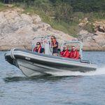 patrol boat / work boat / outboard / aluminum
