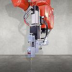 adhesive spraying machine / shipyard