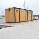 floating restroom