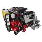 Boat engine : 4 stroke in-board petrol engine 300 - 400 hp V8-380-CE (380 HP @ 6000 RPM) Volvo Penta