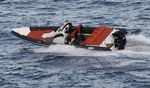 equipped rigid inflatable boat (outboard, center console, sundeck, shower) 850 ST Ribco
